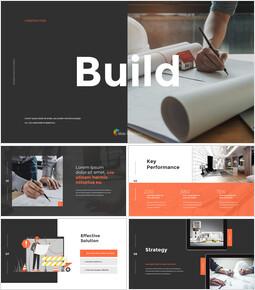 建設、建設提案デッキPPTアニメーションプレゼンテーション_13 slides