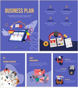 사업 계획 2021 파워포인트 Google 슬라이드_25 slides