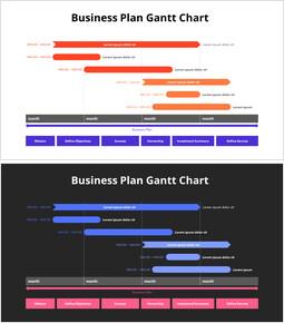 Business Plan Gantt Chart_2 slides