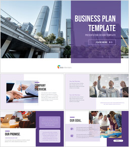 Business Plan team presentation template_35 slides