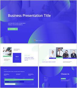 Business Presentation PPTX Keynote_13 slides
