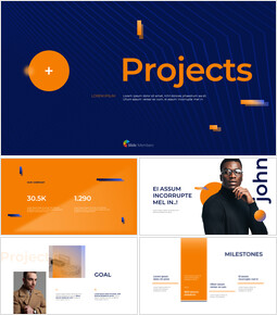 Business Project Best Presentation Template Business plan PPT_00