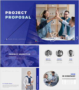 Business Project Proposal Templates for PowerPoint_50 slides