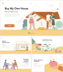 Buy My Own House professional presentation_50 slides