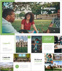 キャンパスライフ ビジネス事業PPTダウンロード_35 slides