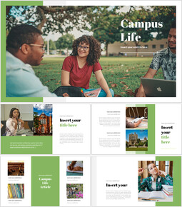 Campus Life Interactive Google Slides_35 slides