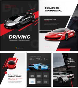 Car Driving Concept presentation slide_26 slides