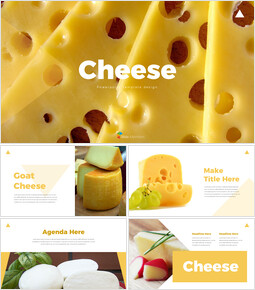 Cheese Slide PPT_35 slides