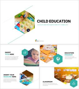 Child Education Simple Slides Design_35 slides