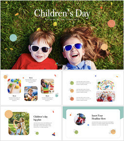 Children\'s Day Keynote_35 slides