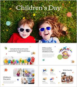 어린이 날 슬라이드 템플릿_35 slides