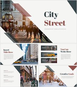City Street team presentation template_40 slides
