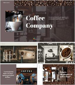 커피 회사 비즈니스 PPT_00