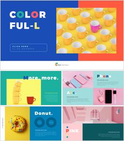 Colorful Product Deck_35 slides