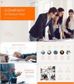 Unternehmensvorstellung PPT-Thema_50 slides
