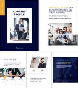 Company profile PowerPoint to Google Slides_25 slides