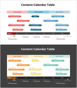 Content Calendar Table_2 slides