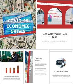 Covid-19 경제 위기 Google 피피티 템플릿_25 slides