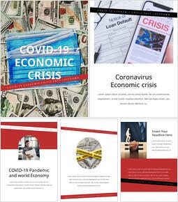 Covid-19 Economic Crisis PowerPoint Presentation Examples_25 slides