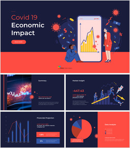 Covid 19 Economic Impact powerpoint animation template_00