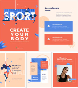 Create Your Body Concept Sport Illustration Google Slides Presentation Templates_26 slides