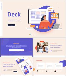 Creative Business Project Deck Slides PPT Animated Presentation_13 slides