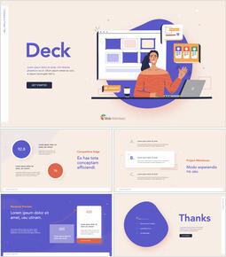 Creative Business Project Deck Slides Theme Keynote Design_13 slides
