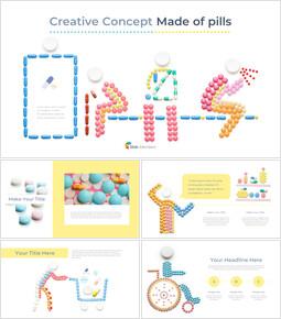 Concept creativo fatto di pillole Google PowerPoint_40 slides