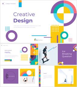 Creative Design Easy Slides Design_50 slides