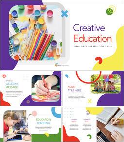 Kreative Bildung Template Keynote_35 slides