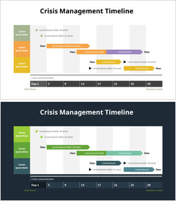 Crisis Management Timeline_2 slides