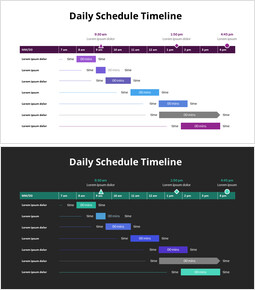 Daily Schedule Timeline_2 slides