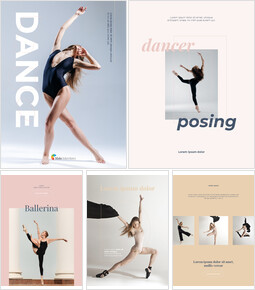Poster verticale a tema di danza Modelli di presentazione_26 slides