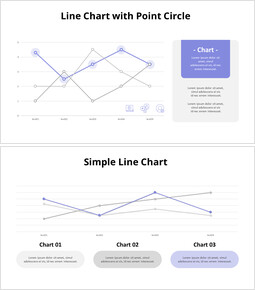 Data Point Line chart_8 slides