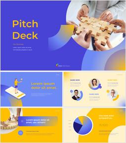 Mazzo di presentazione multiuso di design Semplice design PowerPoint_00