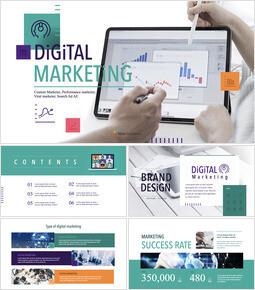 Marketing digitale Template Keynote_50 slides