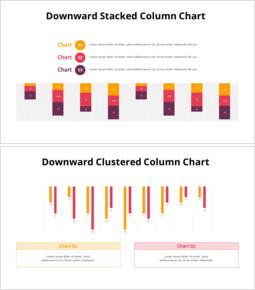 下向きの縦棒グラフ_8 slides