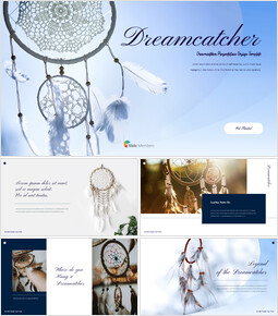 Cacciatore di sogni Profilo aziendale PPT modello_35 slides