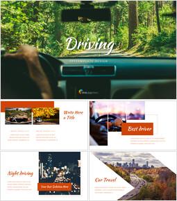 Driving Google Slides Themes_40 slides