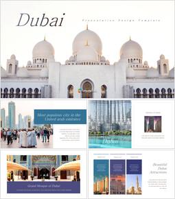 Dubai Entwerfen Sie kurze Vorlagen_35 slides