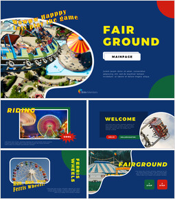 Fairground PPT Background_35 slides