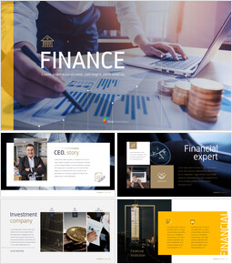 Finanzen Einfache PPT-Vorlage_50 slides
