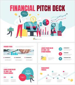 Financial Pitch Deck investor pitch presentation ppt_13 slides