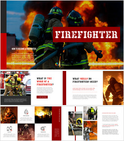Firefighter PowerPoint Presentations_35 slides