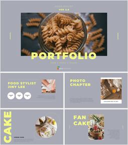 Food Stylist Portfolio Simple Templates Design_00