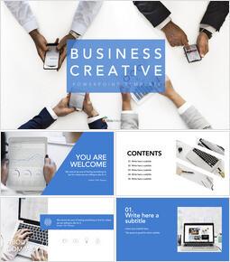 Free Keynote Templates - Business Creative_9 slides