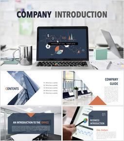 Free Keynote Templates - Company Introduction_10 slides