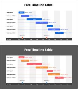 Free Timeline Table_2 slides
