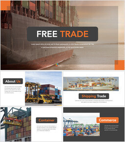 Free Trade beautiful keynote templates_40 slides