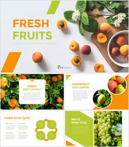 Fresh Fruits Google presentation_40 slides